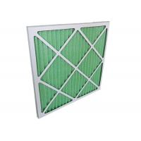 Buy cheap Low Resistance Pleated Panel Air Conditioner Air Filters HVAC For Primary Filtration product