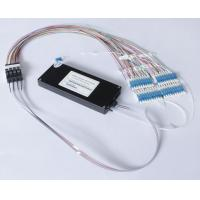 Buy cheap 50G Thermal / Athermal AWG WDM multiplexed For DWDM Wavelength product