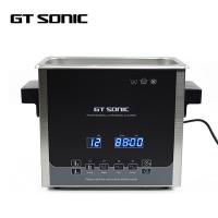 Buy cheap Stainless Steel Ultrasonic Jewelry Cleaner 240 * 140 * 100MM Tank 3L product