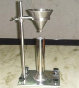 Buy cheap Aluminium Oxide Gypsum Loose Bulk Density Test Apparatus Without Vibration product