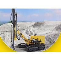 Buy cheap Diesel Engine Driven DTH Rock Drilling Rig Crawler Drilling Rig 25m Drilling Depth product