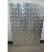 Buy cheap 1220mm*2440mm Embossed Aluminum Sheet 5 Bars for Bus , Boat , Trailer product
