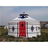 Buy cheap 2 - 10m Diameter Mongolian Round Tent/ Yurt Style HouseWith Steel Structure product