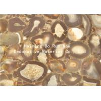 Buy cheap Stone Design Soft Pet Hot Stamping Film PVC Surface Covering Usage product