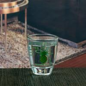 China 1.5oz 45ml personalized decal mini wine glass shot glass on sale