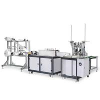 Buy cheap 120-150 PCS / Min Disposable Mask Making Machine Customized Mask Size Stable product