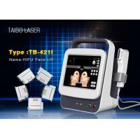 China Anti Wrinkle Body Slimming Hifu Facelift Machine With HIFU Five Cartridges wholesale