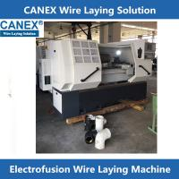 Buy cheap Electro fusion PE fittings Wire Laying Equipment -CANEX product