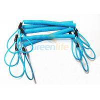 Buy cheap Hot Fashion Peacock Blue Elasticated Spring Tool Tether With Double Loop Ends product