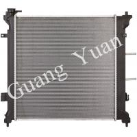 Quality Pressure Resistance Hyundai Sonata Radiator Replacement With Heater Tank DPI 13506 for sale