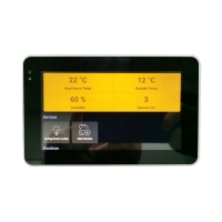 Buy cheap Android POE Touch Wall Mounted 5 Inch Tablet With Zigbee Coordinator And PS product