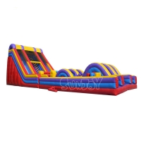 China Inflatable Obstacle Course For Challenge Commercial Inflatable Extreme Rush Obstacle Races Slide For Sale on sale