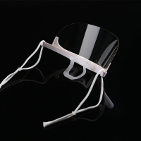 Buy cheap Fog Proof Ergonomic ABS PET Transparent Mouth Cover product