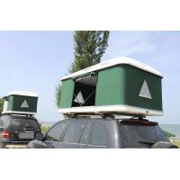 Buy cheap Glass Fiber Lid Hard Shell Roof Top Tent Customized Size For 3-4 Person product