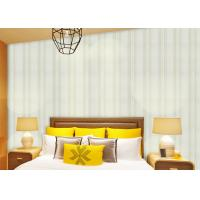 Buy cheap Modern Striped Non Woven Wallpaper For Entertainment / Administration , SGS CSA Approval product