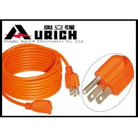 Buy cheap SJT SJTW SJTOW PVC Sheathed Flexible Power Extension Cord Cable With 3 Pin Plug from wholesalers