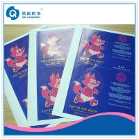 Buy cheap Self Adhesive Sticker Paper Sheet , A4 Self Adhesive Labels With Gold Hot Stamping product