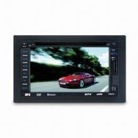Buy cheap 2-din Car DVD Player with USB/SD MMC, Card, AM, FM Radio, GPS, TV and Bluetooth from wholesalers