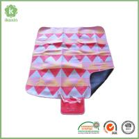 China Polyester Folding Printed Camping Throw  Waterproof Picnic Blanket on sale