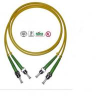 Buy cheap 2 Core ST Fiber Optic Cable , PVC LSZH Cable For Data Transmission product