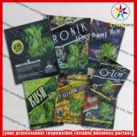 Buy cheap 4g / 10g Custom Herbal Incense Packaging Bags Colorful Printing With Ziplock product