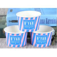 Buy cheap Take Away Custom Branded Ice Cream Cups Food Grade For Frozen Yogurt product