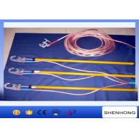 China Electrician High Voltage Portable Earthing Equipment 220KV With Ground Clamp wholesale