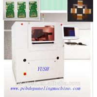 Buy cheap FR4 LED Board Laser Depaneling Machine ±20 μM Precision / 450*430 Mm 15W 2500mm/s ( max ) UV PCB Separator product