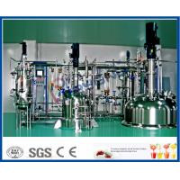 Buy cheap Multi Stage SUS316 Stainless Steel Tanks With Jacket Temperature Control from wholesalers