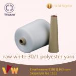 100% lumineux a tourné le fabricant de fil de couture de polyester dans la