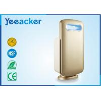 Buy cheap Electrical White / Gold Smart Air Purifier Hepa Filter Applying Space 41 ㎡ – 60 ㎡ product