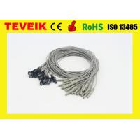 Buy cheap IN1.5 socket EEG cable with silver chloride plated copper from manufacturer product
