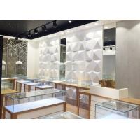 Buy cheap High End Attractive Lighting Jewelry Store Display Cases / Jewelry Store Fixtures product