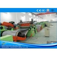 Buy cheap Electric Cut To Length Line Fast Speed Blue Colour With Changeable Width product