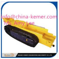 pedrail structure chassis/undercarriage/track crawler undercarriage/steel CMS track pedrail undercarriage