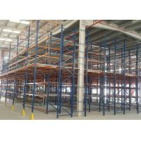 China Steel Structure Mezzanine Floor for Industrial Warehouse Storage on sale