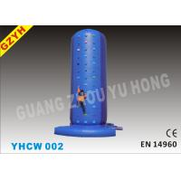 China YHCW 002 High Durability Inflatable Rock Climbing Wall with 2 x 950W CE / UL Blowers on sale