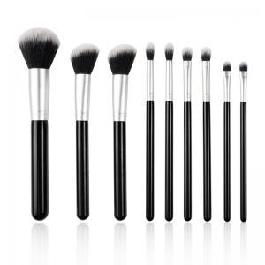 Buy cheap Customized Full Makeup Brush Set Synthetic Hair Material Flat Brush Shape from wholesalers