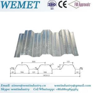 Buy cheap Steel floor deck for steel structure building WMT 76-305-915 product