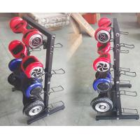 Buy cheap Black Scooter Display Rack / Scooter Display Stand Cold Rolled Steel Material product