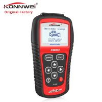 Buy cheap 2.8 Inches Live Data Scanner Diagnostic Tool / Konnwei Kw808 Obd2 Scanner product