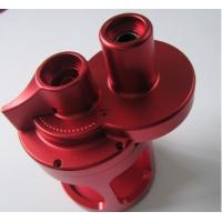China Red Anodized Custom CNC Milling Aluminum With STEP / IGS / PDF Drawing Format on sale