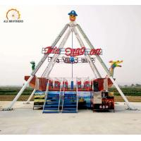 Buy cheap Playground 40 Seats Pirate Ship Ride , Outdoor Pirate Ship Fair Ride product