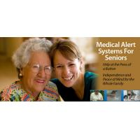 Lifemax Autodial Elderly Medical Help House Alarm systems with two blue panic buttons