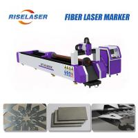 Industrial Fiber Laser Tube Cutting Machine Automatic Loading For Different Tube for sale