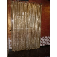 Buy cheap Fine Wire Decorative Aluminum Alloy 2mm Metal Coil Curtain/ Mesh Curtain product