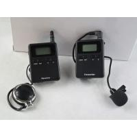 Buy cheap Professional Stereo 008A Wireless Tour Guide Headsets For Visiting CE Approved product