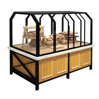 Buy cheap 3 Years Warranty Food Store Shelving Bakery Display Shelves For Cake product