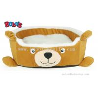 Buy cheap New Design Plush Cartoon Bear Shape Puppy Dog Cat Bed Pet Bed product