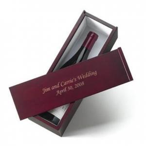 China gift wine glass gift box on sale